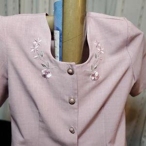 Elizabeth Williams Dresses - Mauve colored skirt suit